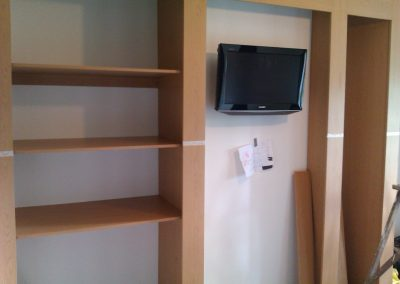 fitted wardrobes with tv compartment (1)
